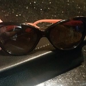 Kate Spade sunglasses with leather case